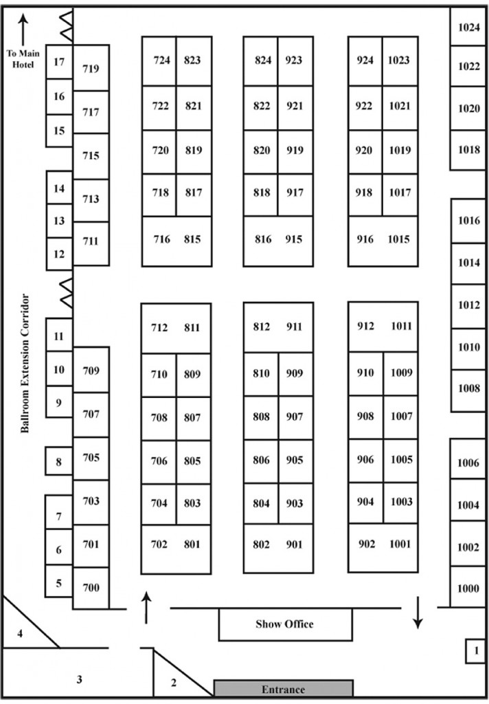 Kennedy Productions - St. Charles Home Show Floor Plan